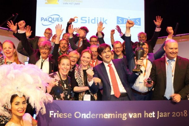 Paques declared Frisian Company of the Year 2018! - PAQUES